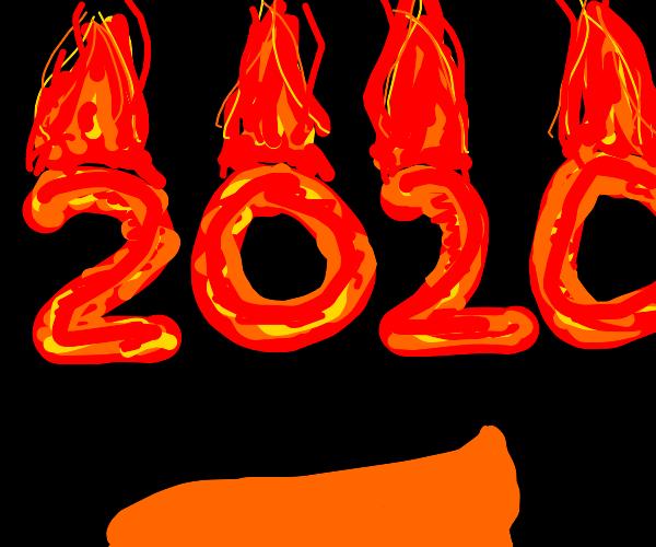 2020 burning