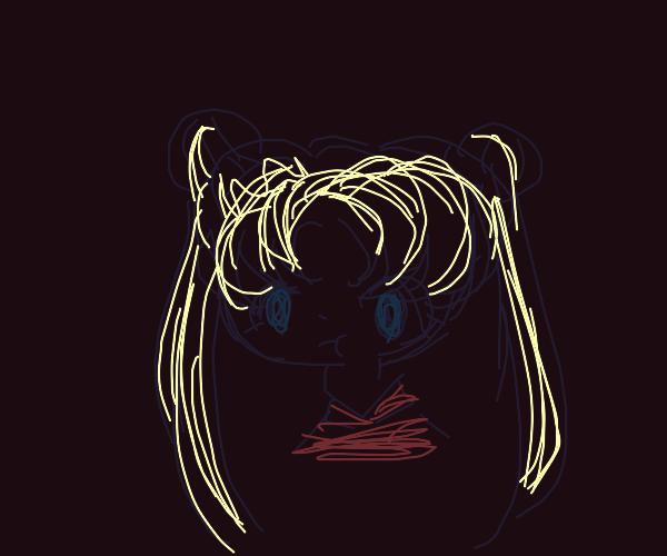 angry sailor moon