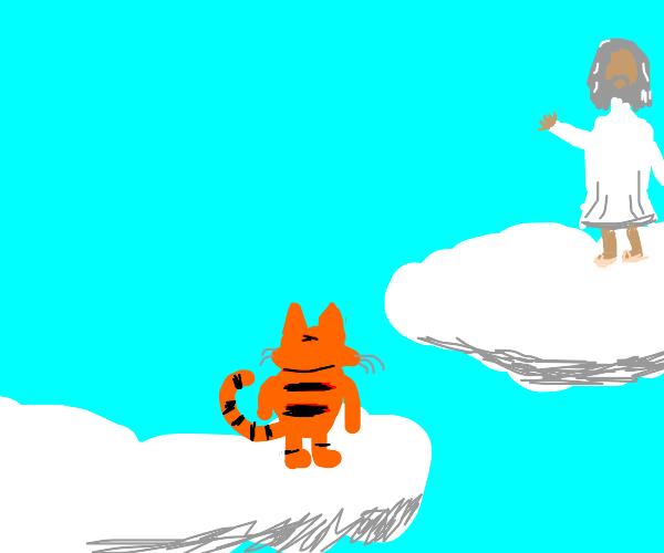 Garfield meets God