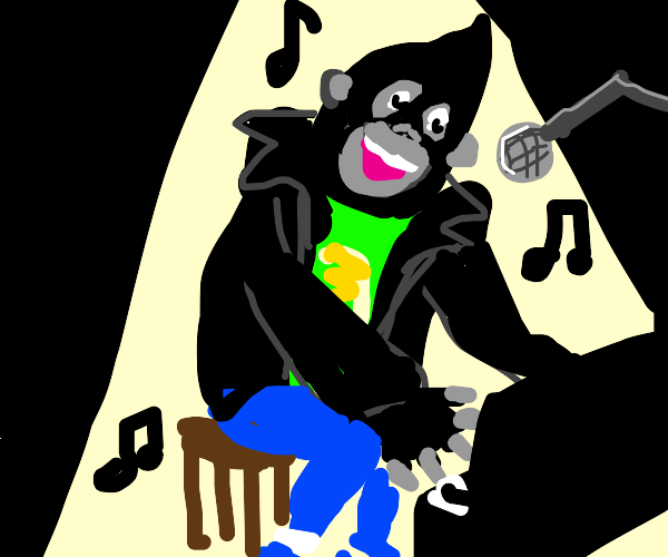 That singing gorilla from bootleg zootopia