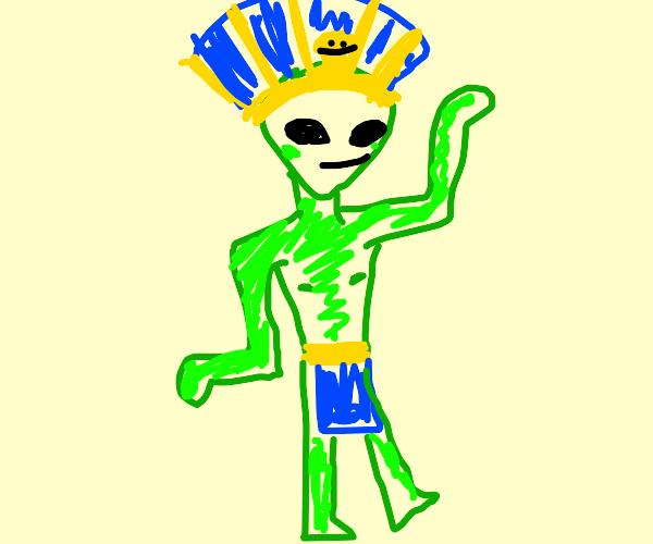 Egyptian Alien