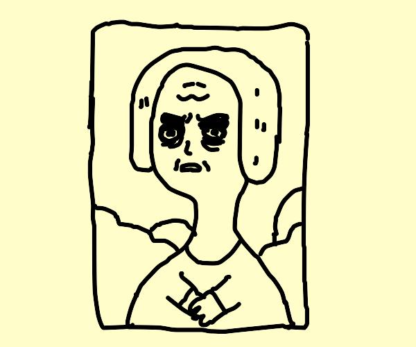 Angry Mona Lisa