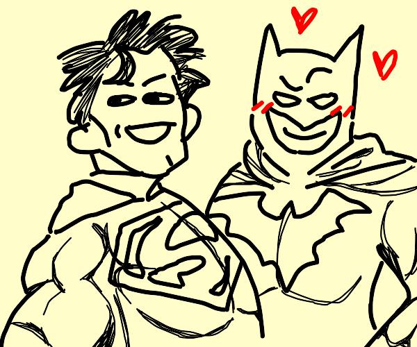 batman has a crush on superman