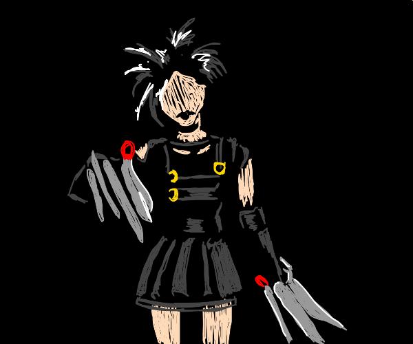 Edna Scissorhands