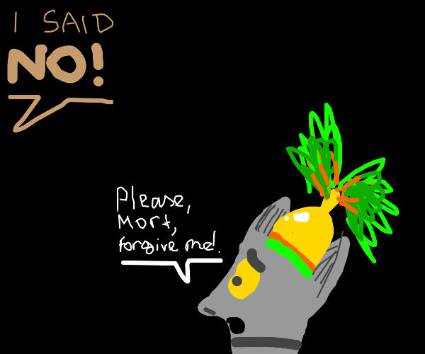 king julien finally stands up to mort (drama)
