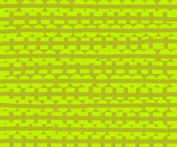 A strange but pretty pattern
