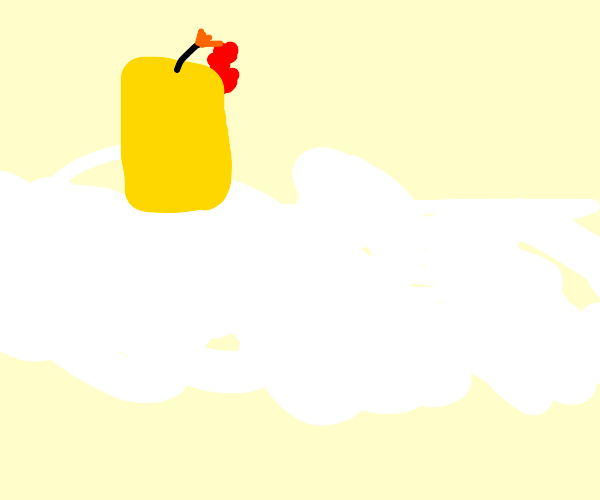 Candle in the Clouds