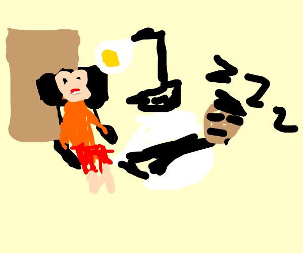 Dentist Snoozing