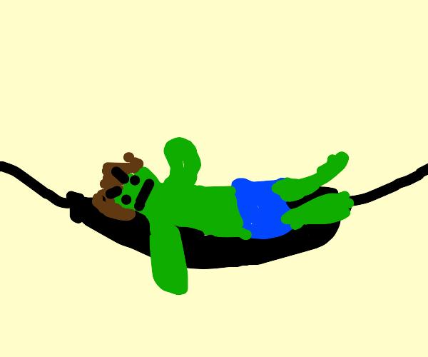 Hulk in a Hammock
