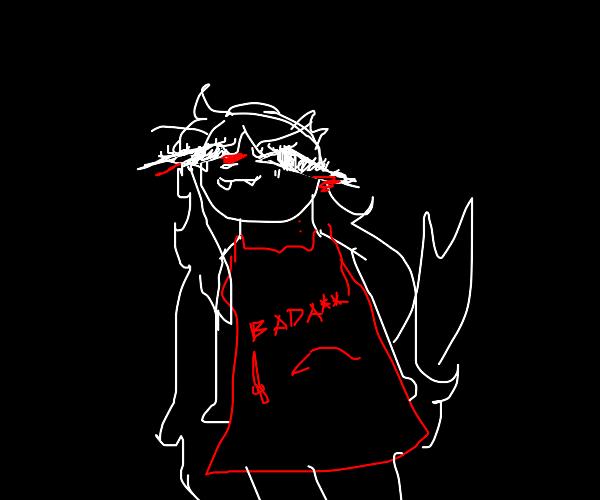 sexy vampire lady