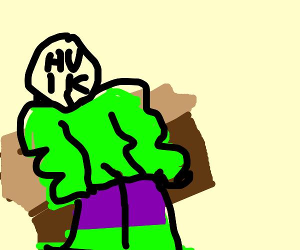 the hulk contemplates his life