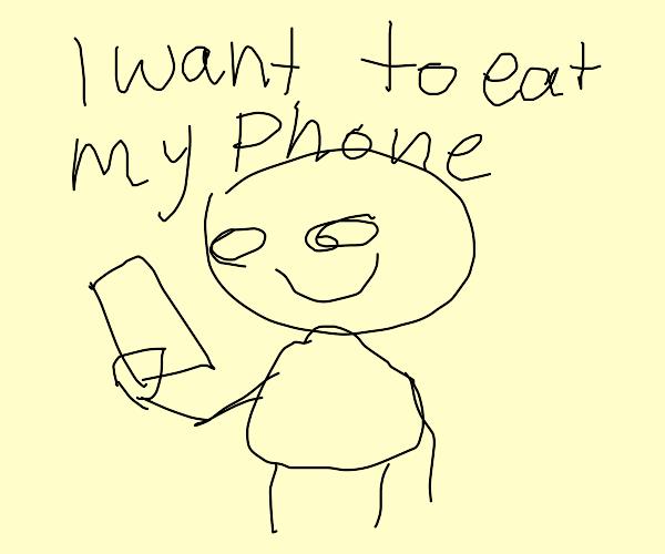 phones taste yum