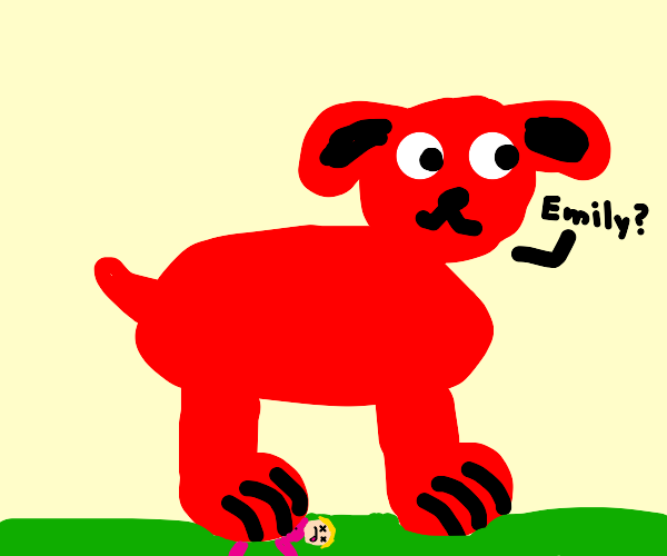 clifford crushes emily