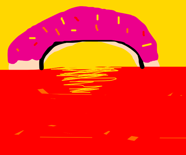 Donut Sunset