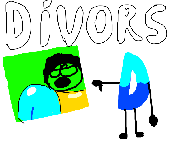 NSFW Drawception results in a divorce