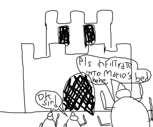 Bedbug in a Castle