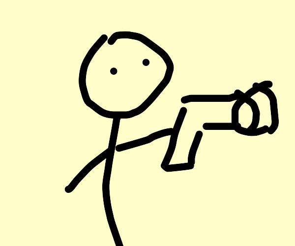 Butt Gun is Shot