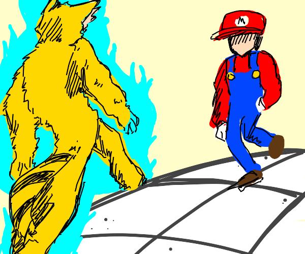 Mario vs Furry