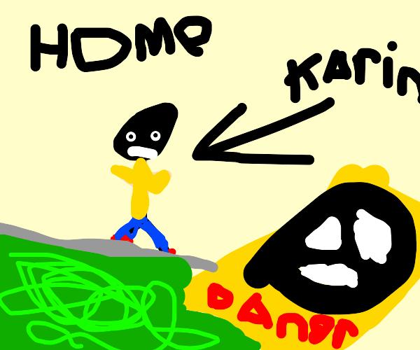 Karen's found in their natural habitat