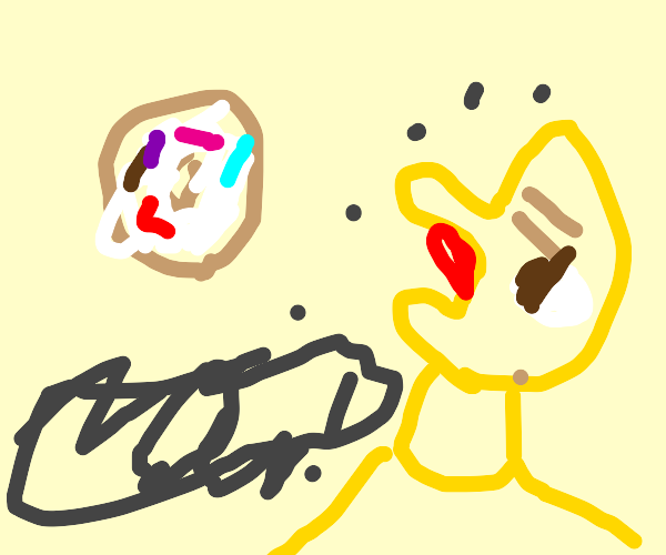 Homer wants a donut NOW