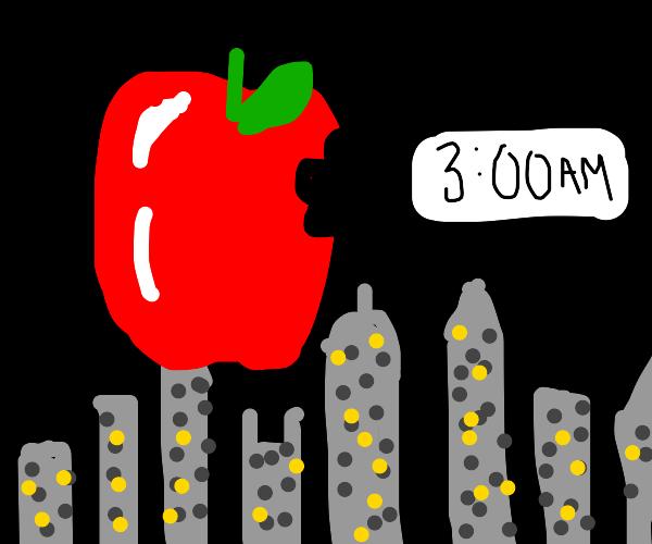 Big apple, 3 am