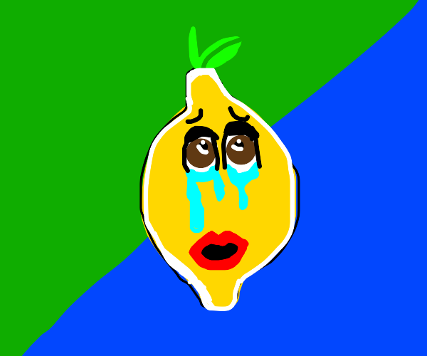Crying toothless lemon