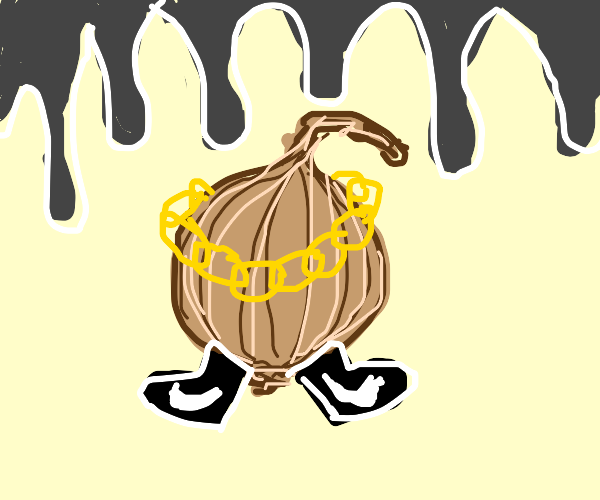 onion with drip