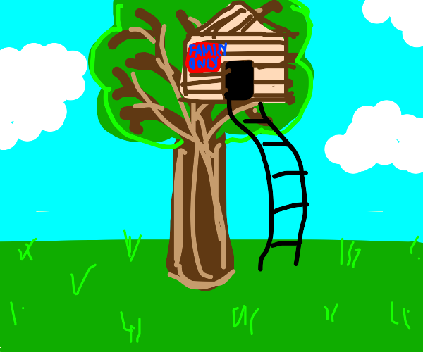 Tree house for my family