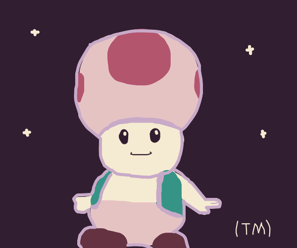 Toad from Mario