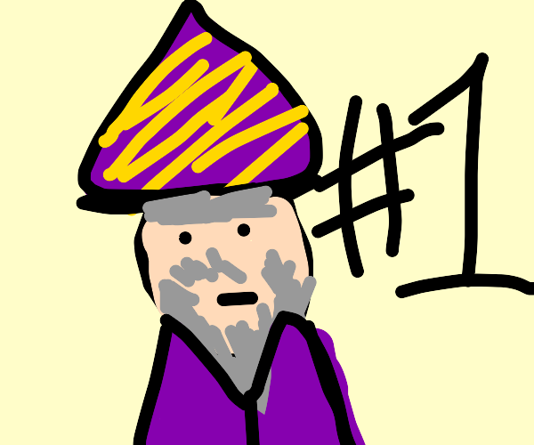 A fortune telling wizard who is number 1