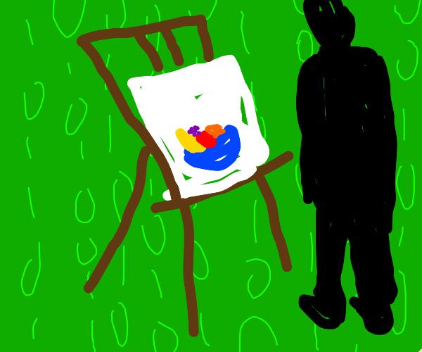 Painter in the Matrix