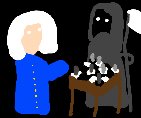george washington playing a scary game