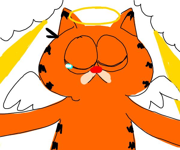 Garfield goes to heaven