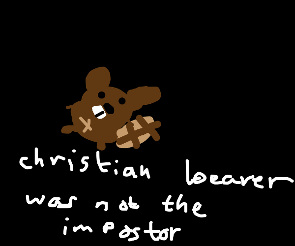 christian beaver hurled into space