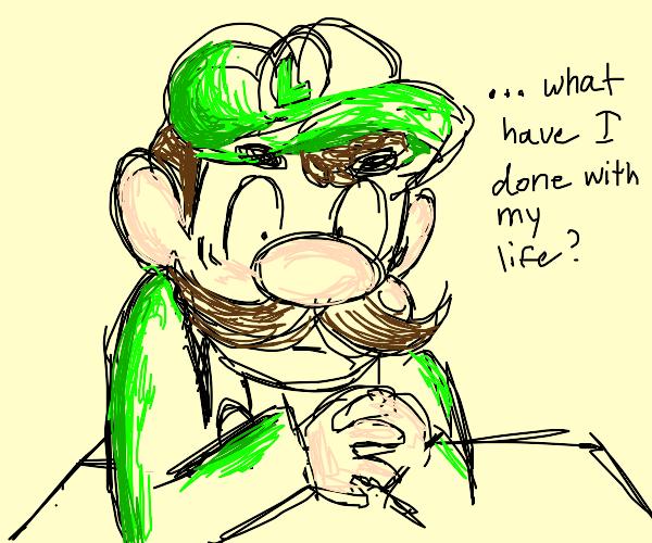 Luigi Regrets Life Choices