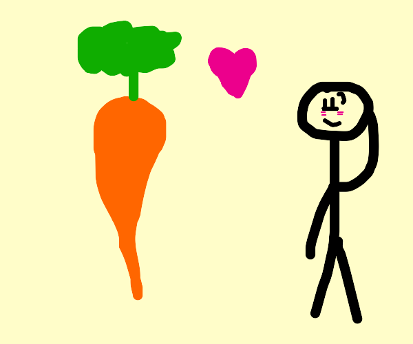Wow, you must really like carrots!