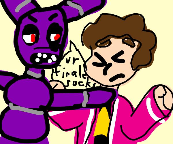 Bonnie the bunny strangles Steven Universe