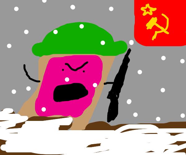 Pop-Tarts invade Russia in the winter