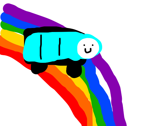 Thomas on the rainbow