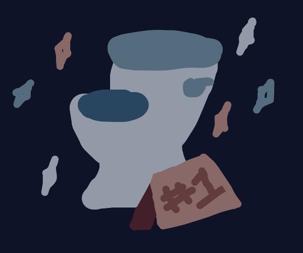 1# toilet
