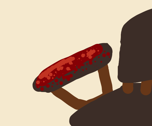 bloody armchair