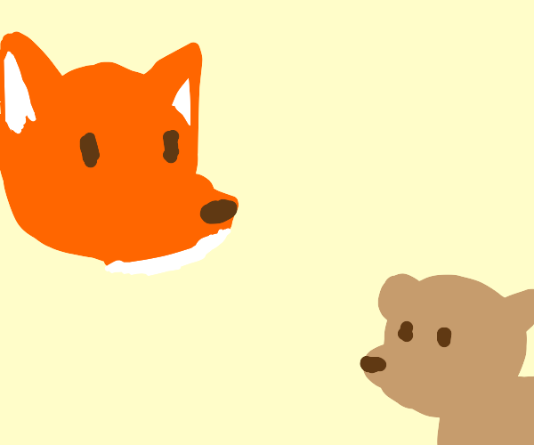 fox and weasel