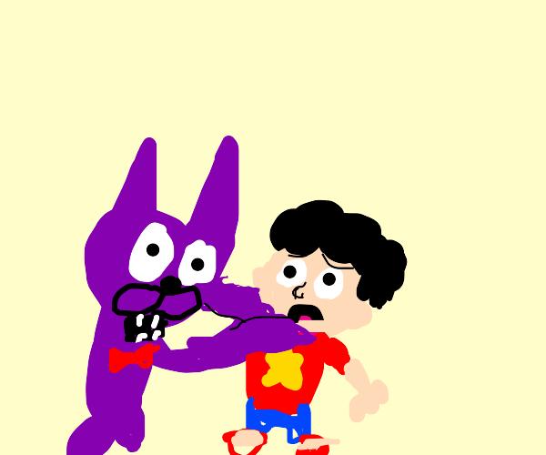 Bonnie chokes steven universe