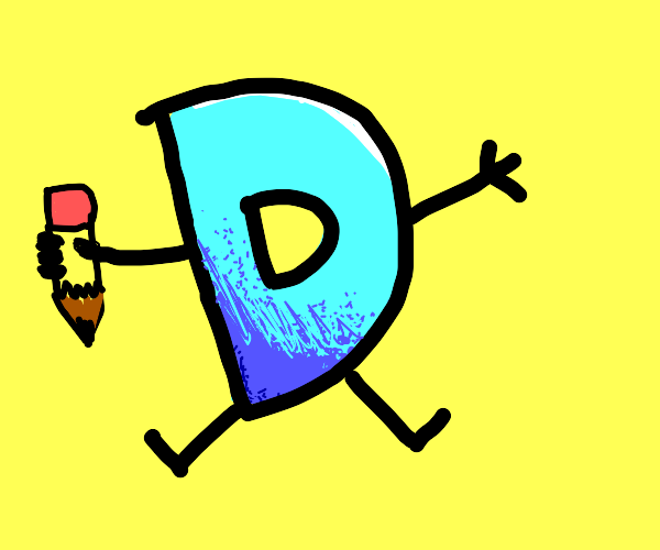 Drawception D in this pallete