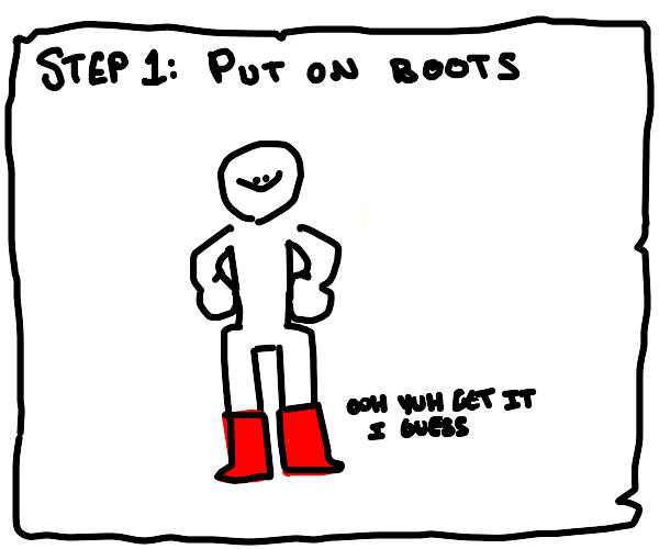 How to jump in mud