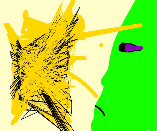 firefly uses light against an innocent alien