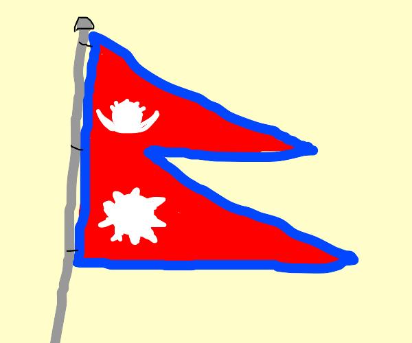nepal's flag is strange