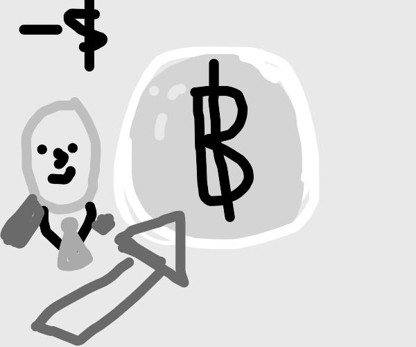 Negative interest? Stonks get my Bitcoin