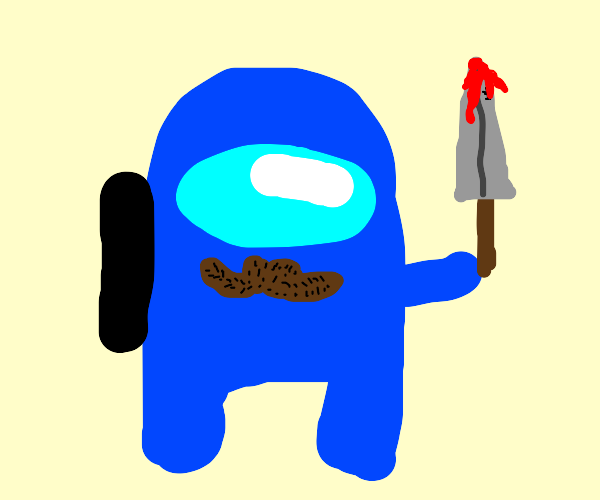 Blue is impostor
