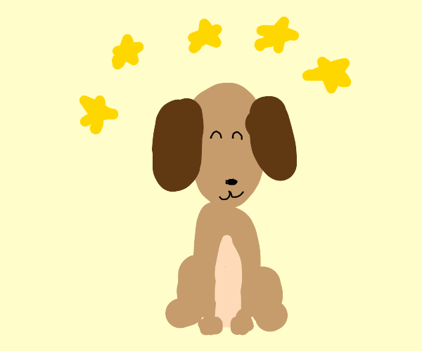 5 star puppy good doggo